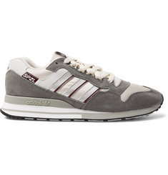 adidas Consortium SPEZIAL ZX530 Suede, Leather and Mesh Sneakers