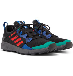 adidas Consortium - + White Mountaineering Terrex Agravic Speed Ripstop and Mesh Sneakers
