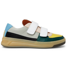 Acne Studios Perey Colour-Block Leather Sneakers