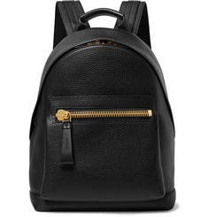 TOM FORD - Full-Grain Leather Backpack