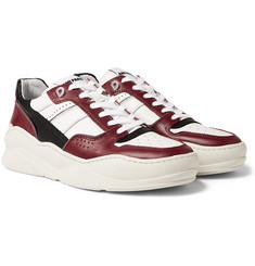 AMI Panelled Leather Sneakers