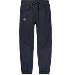 Spezial Mcadam Tapered Tech-jersey Track Pants - Storm blue