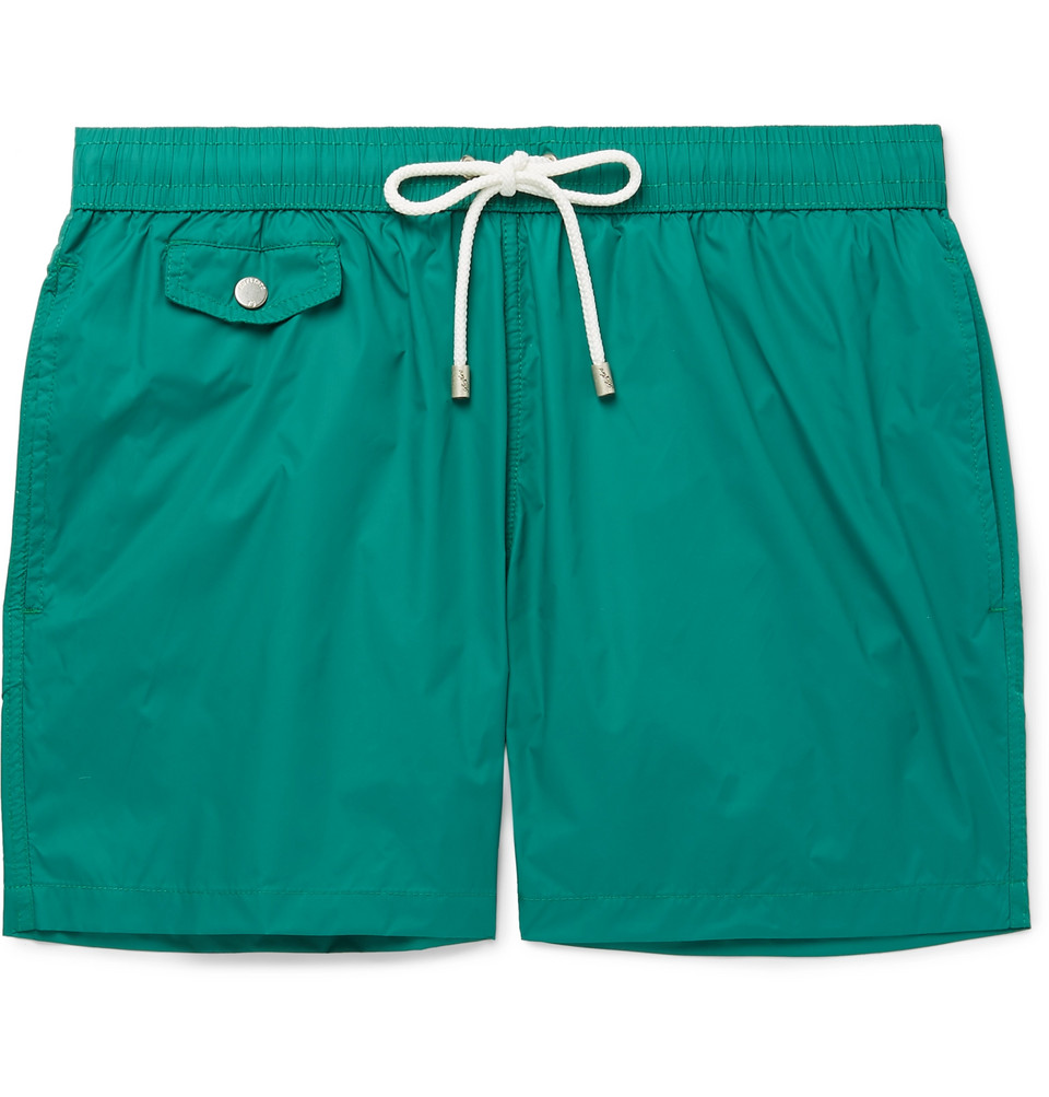Mid-length Swim Shorts - Green
