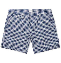 Sunspel Mid-Length Printed Swim Shorts