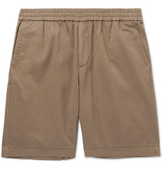 Sunspel Slim-Fit Cotton-Twill Shorts