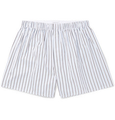 Sunspel - Striped Cotton Boxer Shorts