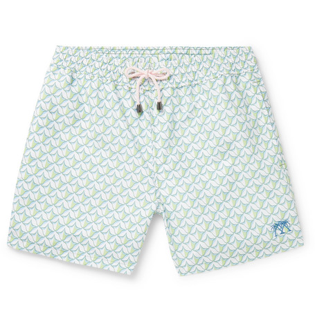a9d06bc6cc0 Pink House Mustique - Mid-Length Printed Swim Shorts