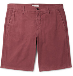 NN07 Slim-Fit Cotton-Corduroy Shorts