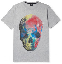 PS by Paul Smith Printed Cotton-Jersey T-Shirt