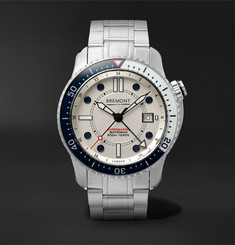 Bremont - Supermarine Waterman Limited Edition Automatic 43mm Stainless Steel and Kevlar Watch