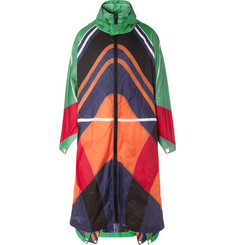 Moncler Genius 5 Moncler Craig Green Colour-Block Ripstop Cape Coat
