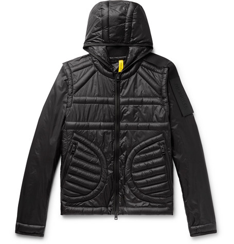 Moncler Genius  5 MONCLER CRAIG GREEN APEX QUILTED SHELL HOODED DOWN JACKET