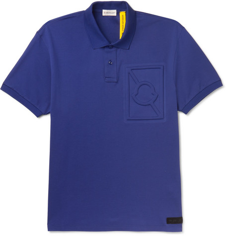 Moncler Genius 5 Moncler Craig Green Logo-Embossed Cotton-Piqué Polo Shirt