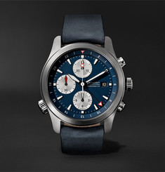 Bremont - ALT1-ZT Automatic Chronograph 43mm Stainless Steel and Leather Watch