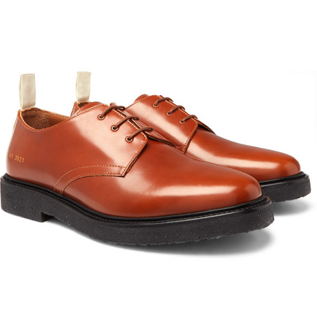 Cadet Leather Derby Shoes - Brown