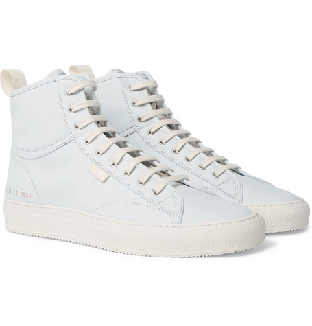 947b2fcc71f13 Common Projects - Tournament Nubuck High-Top Sneakers