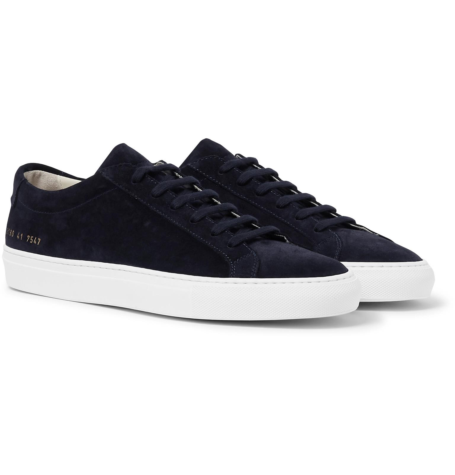 fa06d9eec58b Common Projects - Original Achilles Suede Sneakers