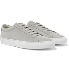 Common Projects - Original Achilles Suede Sneakers