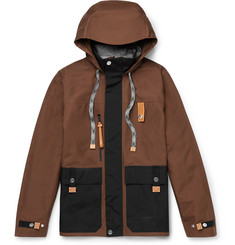 eye/LOEWE/nature Colour-Block Nylon Hooded Jacket