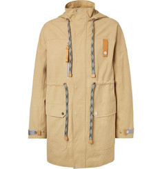 eye/LOEWE/nature Cotton-Canvas Hooded Parka