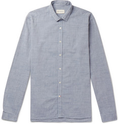 Oliver Spencer Clerkenwell Slim-Fit Cotton-Chambray Shirt