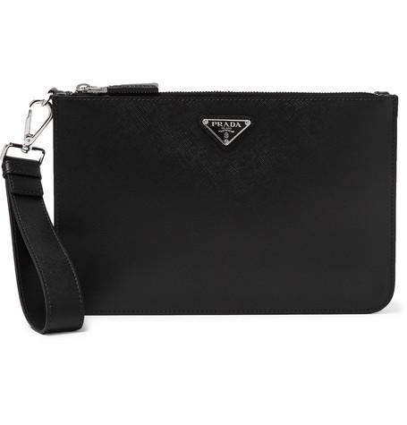 b5af89938e2 Prada - Saffiano Leather Pouch