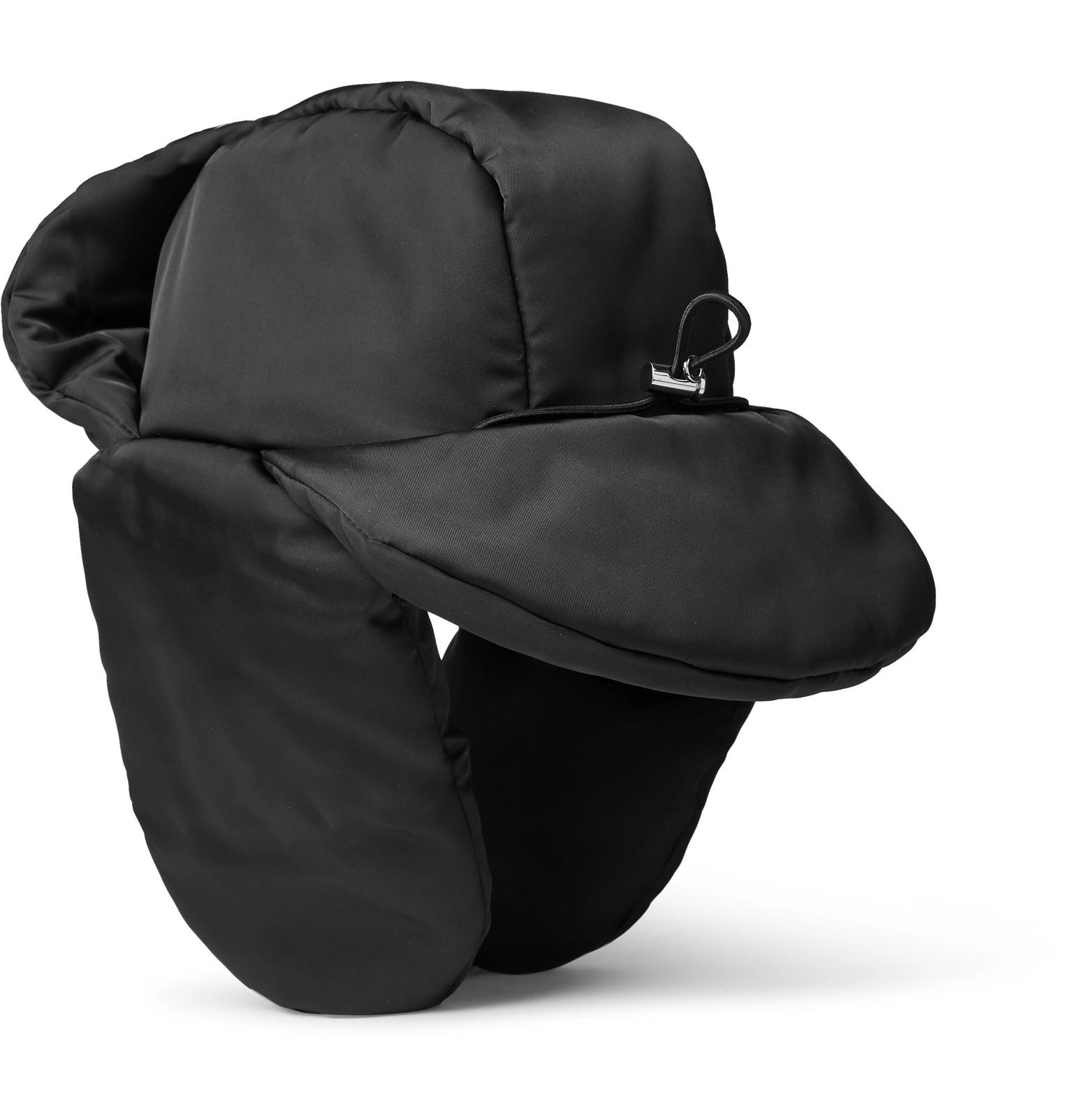 cee0d7eae7c Prada - Padded Nylon Trapper Hat