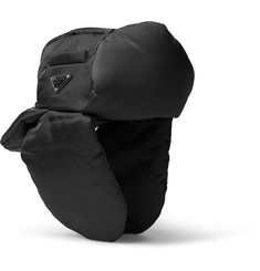 Prada - Padded Nylon Trapper Hat