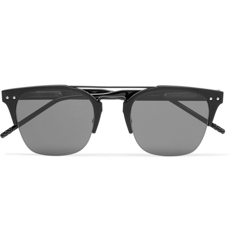 Bottega Veneta – Square-frame Acetate Sunglasses – Black