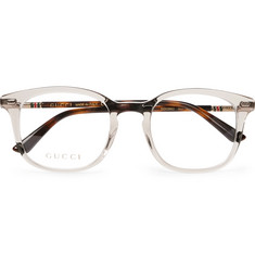 Gucci Square-Frame Acetate Optical Glasses