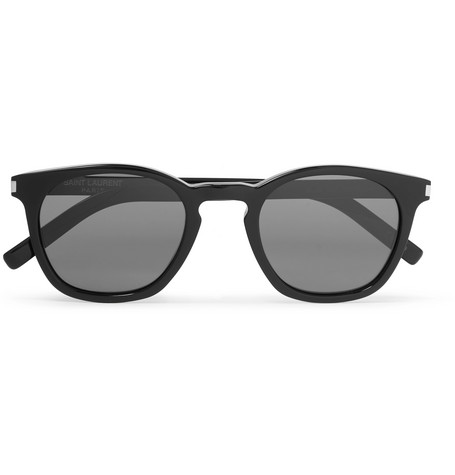 Saint Laurent – Round-frame Acetate Sunglasses – Black