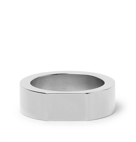 Alice Made This Bacchus Stainless Steel Signet Ring
