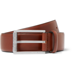 Hugo Boss 3.5cm Brown Coris Leather Belt
