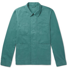 Mr P. - Garment-Dyed Cotton-Twill Jacket