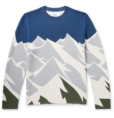 Aztech Mountain Ashcroft Camo Printed Wool Sweater