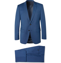 Hugo Boss Blue Huge/Genius Virgin Wool Suit