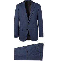 Hugo Boss Navy Huge/Genius Virgin Wool Suit
