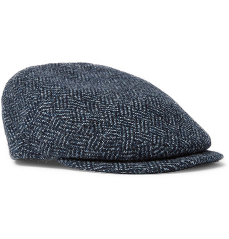 0789351ee1a Kingsman - + Lock   Co Hatters Drifter Wool-Tweed Flat Cap