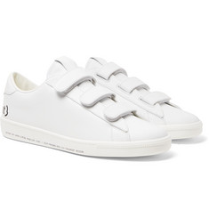 Moncler Genius 7 Moncler Fragment Logo-Print Leather Sneakers
