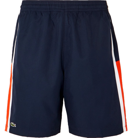 Lacoste Tennis Striped Shell Tennis Shorts