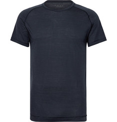 FALKE Ergonomic Sport System - Wool and Silk-Blend Jersey T-Shirt