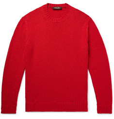 Loro Piana Slim-Fit Textured Cotton Sweater