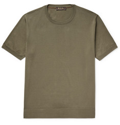 Loro Piana Knitted Cotton T-Shirt