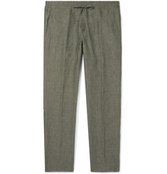 Loro Piana - Slim-Fit Linen Drawstring Trousers