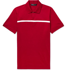 Loro Piana - 28Matches Striped Jersey Golf Polo Shirt