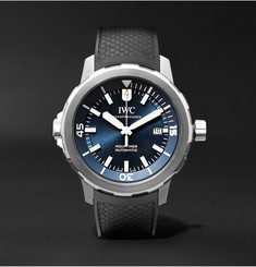 IWC SCHAFFHAUSEN Aquatimer Expedition Jacques-Yves Cousteau 42mm Stainless Steel and Rubber Watch