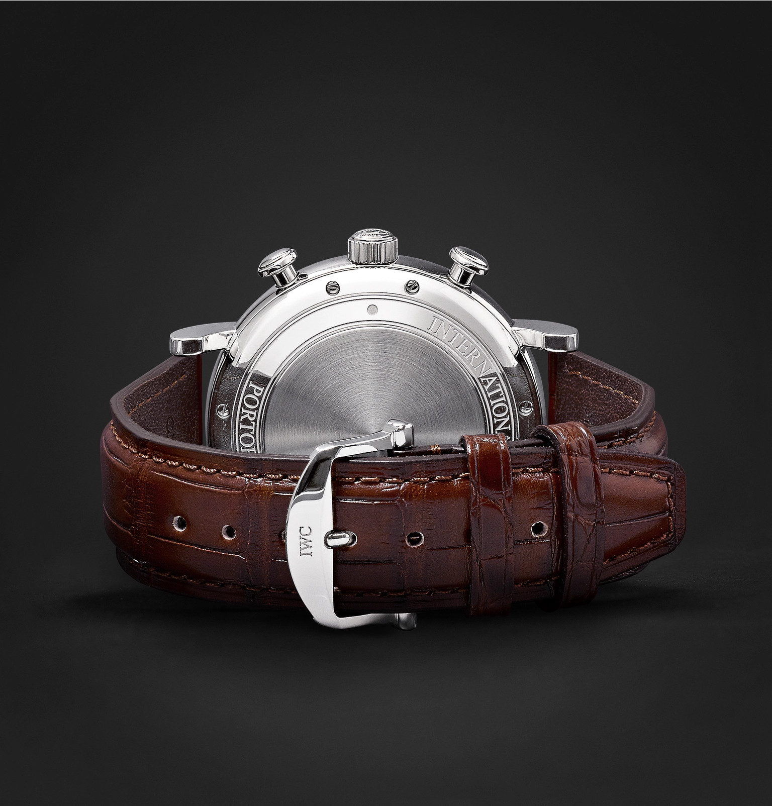 huge discount a00ac cbad6 IWC SCHAFFHAUSEN - Portofino Chronograph 42mm Stainless ...