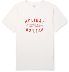 Holiday Boileau Logo-Print Cotton-Jersey T-Shirt