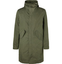 Bellerose - Cotton and Nylon-Blend Ripstop Hooded Jacket