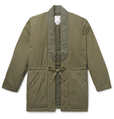 visvim Dotera Mil Cotton-Blend Coat